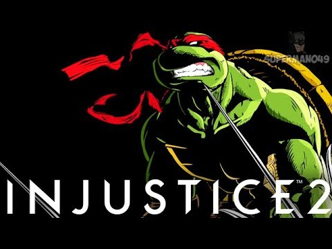 "Raphael Faces The WORST Thing About Injustice 2 - Injustice 2 ""Ninja Turtles"" Raphael Gameplay"