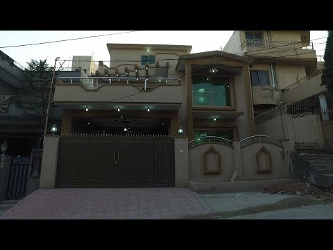 6 BED 10 MARLA BRAND NEW HOUSE IN GULSHAN ABAD RAWALPINDI