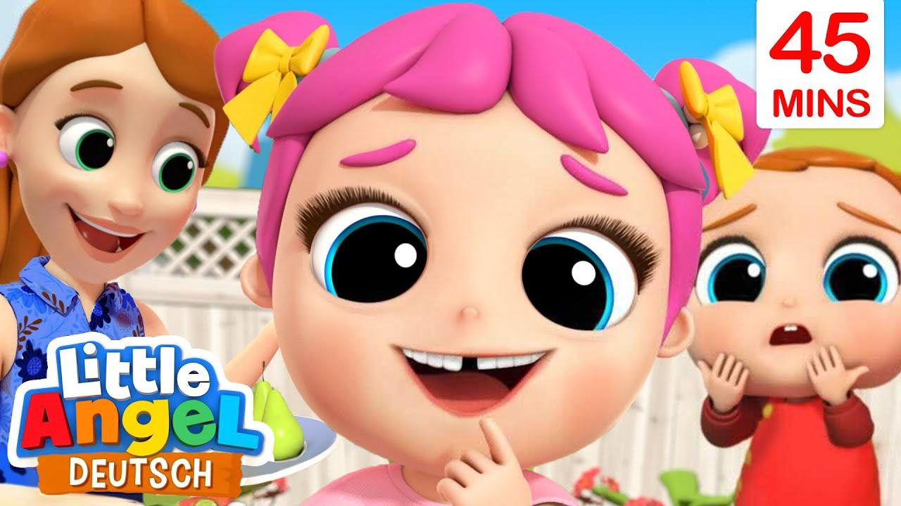 Kommt die Zahnfee? | Der Wackelzahn | Little Angel Deutsch - Kinderlieder