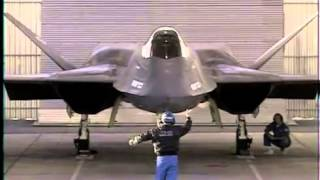 YF-23 Northrop Black Widow Stealth Fighter- Declassified