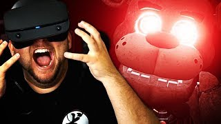 YOU CAN'T HURT ME!!! AAAAAAAH!!! | Five Nights at Freddy's VR: Help Wanted w/Girlfriend