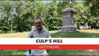 Culp's Hill on July 3: 157th Anniversary of Gettysburg Live! (Day 3)