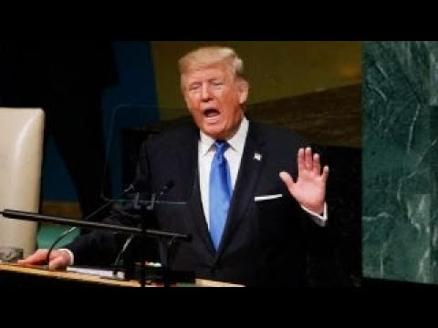 What did voters think of President Trump's UN address?