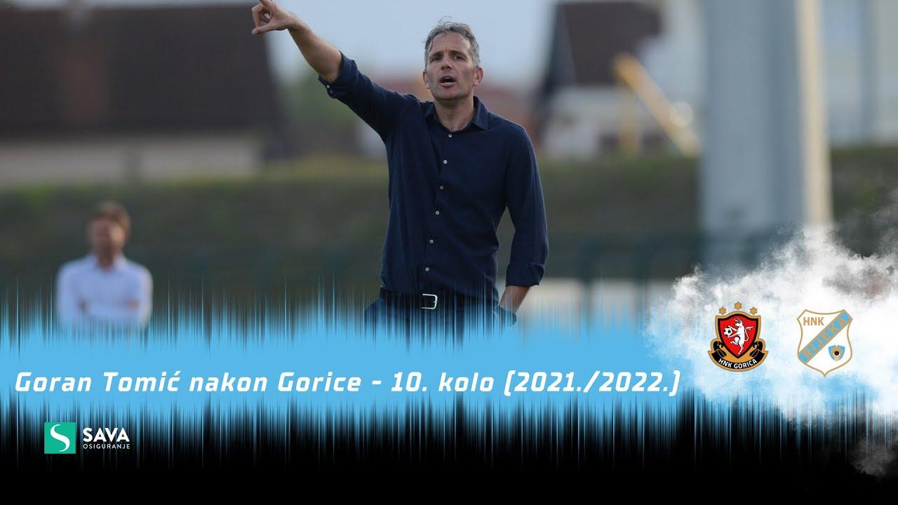 Goran Tomić nakon Gorice - 10. kolo (2021./2022.)