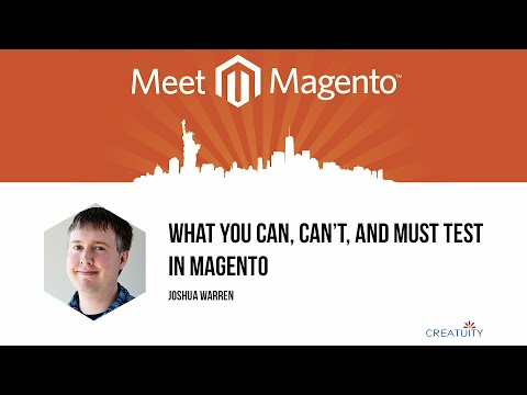 MMNY 2014 - Testing Your Magento Site
