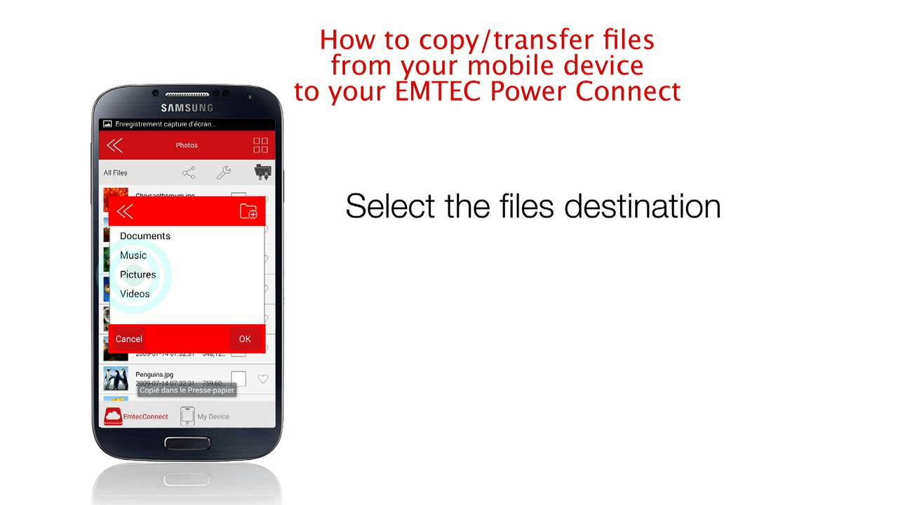 emtec connect pour windows