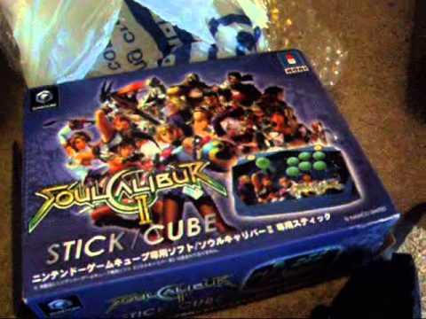 GamerNinjaX Unboxes: Soul Calibur 2 Hori Arcade Stick for Nintendo Gamecube (Japan Import)