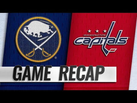 Wilson, Holtby lift Capitals past Sabres