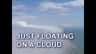 Paragliding Orographic Cloud at Beer Head, Devon. Bob Moore