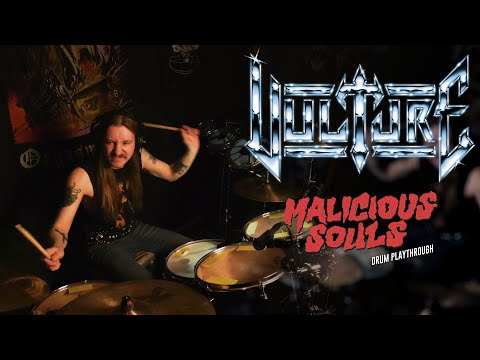 Vulture - Malicious Souls (Drum Playthrough)