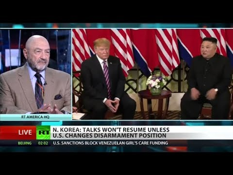 RT America: Kim 'hardened position' after US-China trade talks – fmr Pentagon official