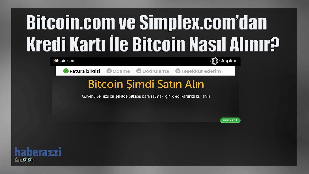 Simplex Borsasından Kredi Kartı İle Bitcoin Nasıl Alınır?