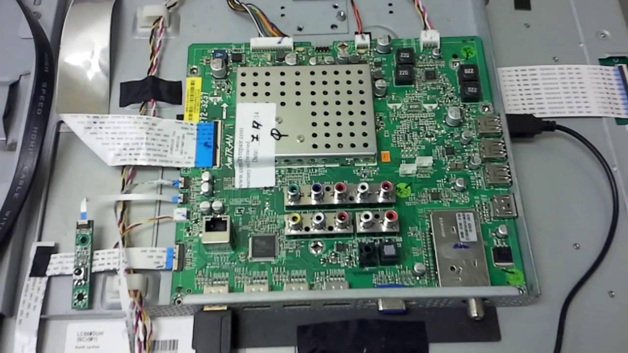 Vizio Xvt553sv Sound No Image Issue With Main Board