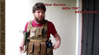 Airsoft Argentina / Gear Review 6094 TMC RRV Emerson