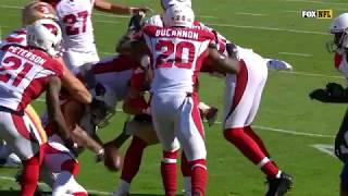 Patrick Peterson's Crazy Fumble Recovery Sets Up Jaron Brown's TD! | Cardinals vs. 49ers | NFL Wk 9