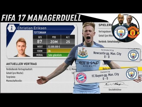 TRIPLE INCOMING!?? DIE WITZIGSTE FOLGE!!! - MANCHESTER CITY MANAGERDUELL KARRIEREMODUS w/ Combenser