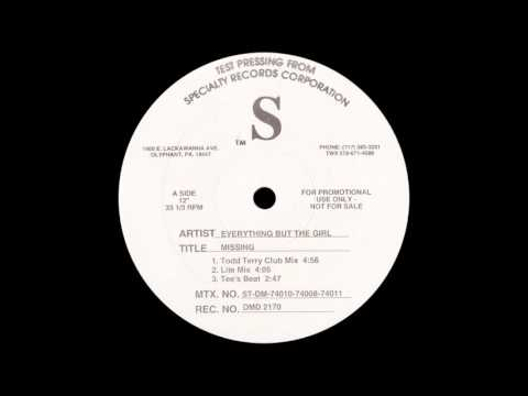 Everything But The Girl  Missing Todd Terry Club Mix 1994