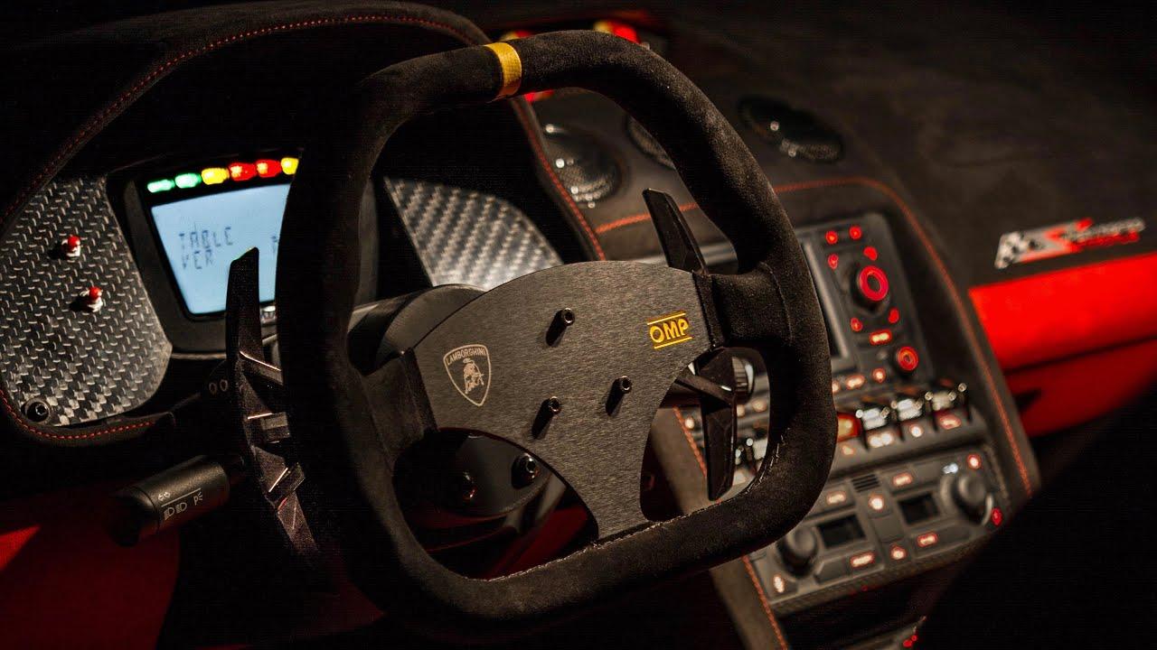 Custom Lamborghini Race Car Dash Youtube