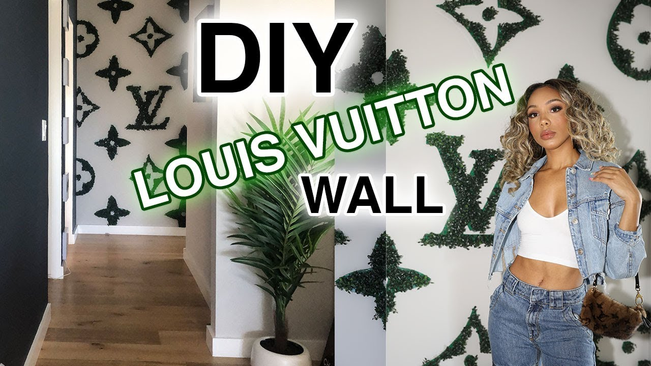 Diy Louis Vuitton Wall Home Decor Highly Requested Youtube