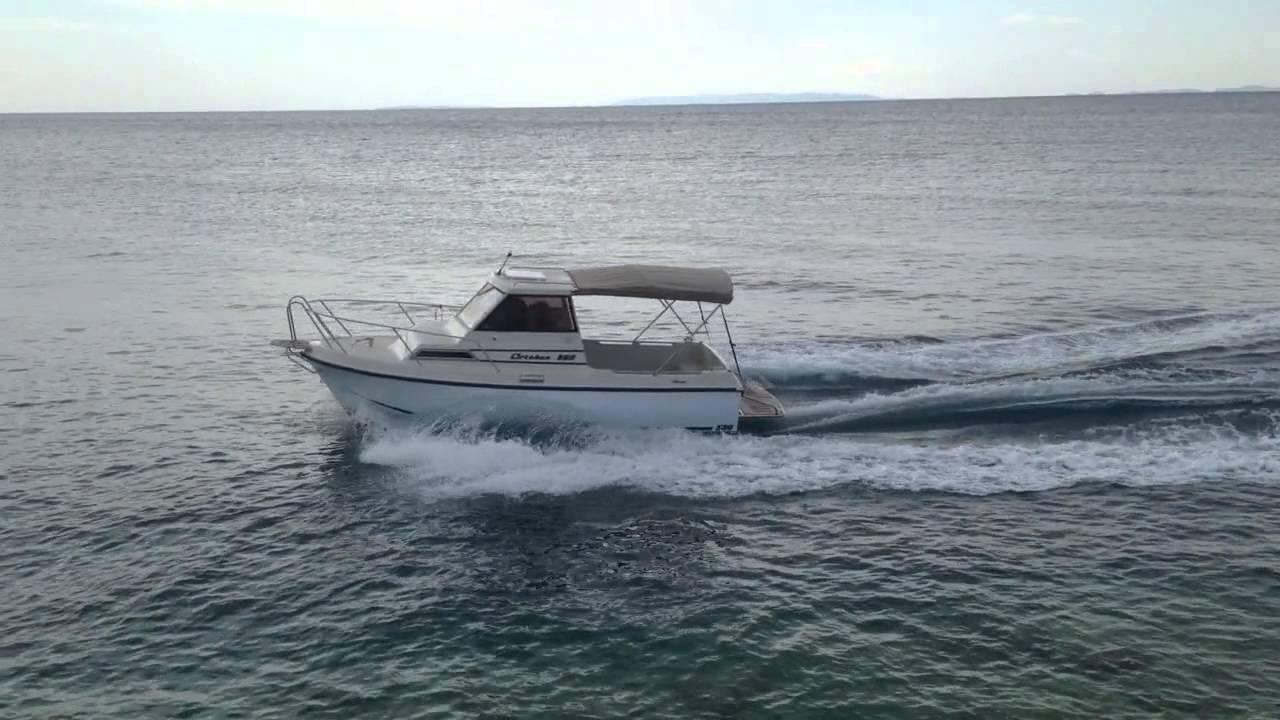 Artaban 580 - Perkins Diesel 50HP - Plovila Mlakar - YouTube