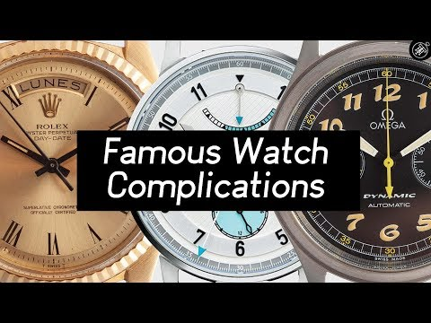 Famous Watch Complications EXPLAINED - What Is A Day Date? Chronograph? Power Reserve?