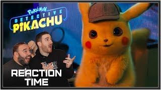 POKÉMON Detective Pikachu Trailer - Reaction Time!