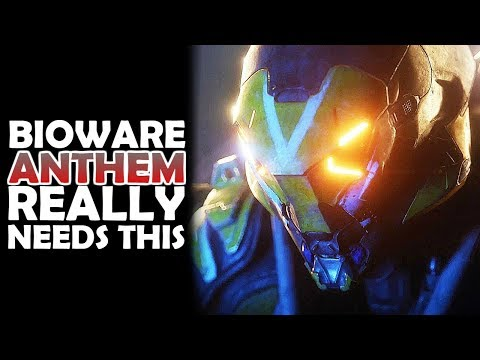 BIOWARE, ANTHEM REALLY NEEDS THIS!