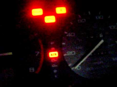 In dash lights not working - YouTube