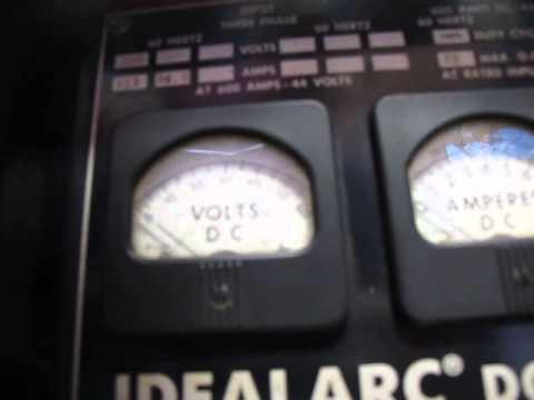 1 LINCOLN IDEALARC DC-600  S-64 WIRE FEEDER 230/460V 3 PHASE 600