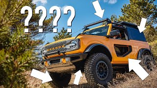 20 Things You Didn't Know About the 2021 Bronco!