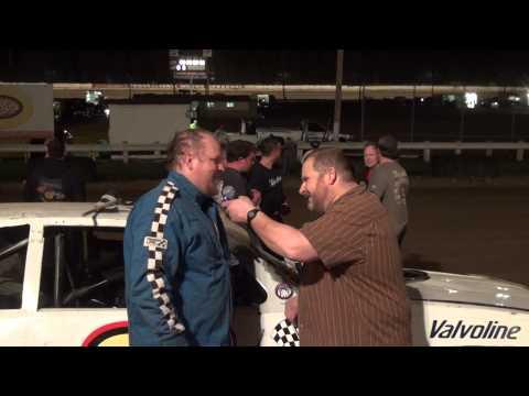 Steve Pyeritz, Hobby Stock winner at Pittsburgh's Pennsylvania Motor Speedway 4/18/15