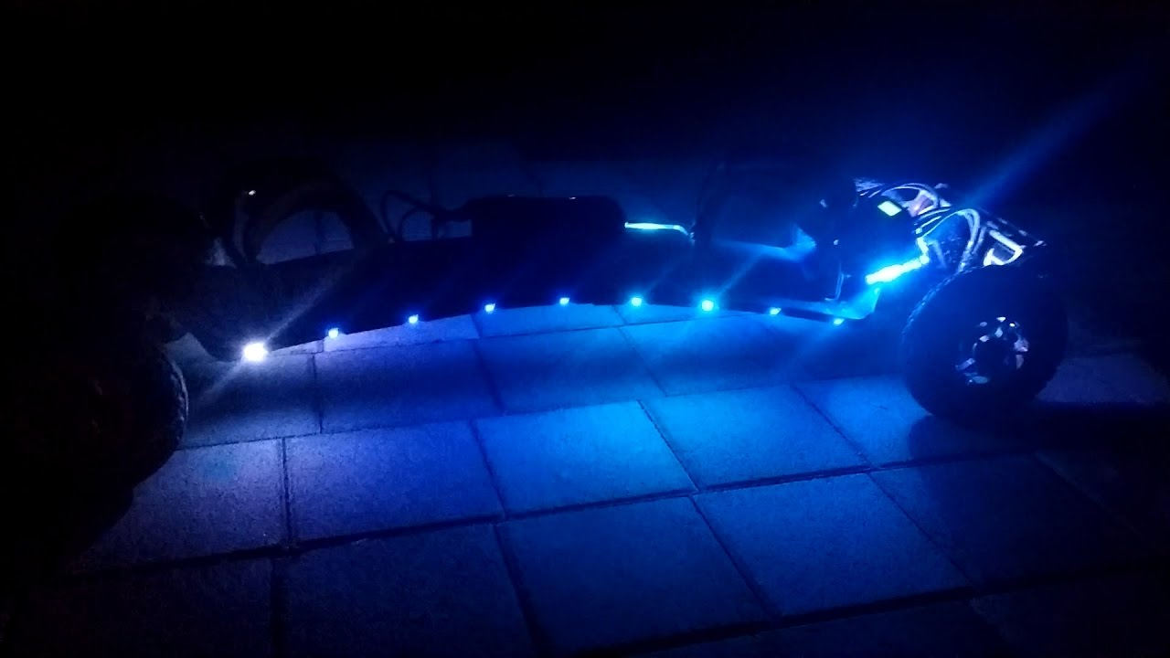 TRAMPA Electric Mountain Board led = 전동 트람파 마운틴보드 led 튜닝