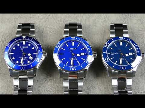 On the Wrist, from off the Cuff: Christopher Ward – C60 Trident Pro 600, Blue Evolution