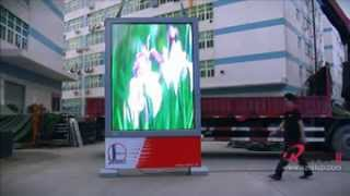 Advertising Machine/Player For Air Media (SINOPEC) (Bob@szretop.com)/P6mm Outdoor HD Display
