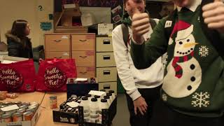 Food bank Contribution 2018 (NEW RECORD AT QEHS)
