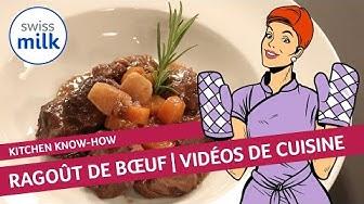 Comment faire un ragoût de bœuf? La recette en images avec Swissmilk.