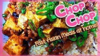 Chinese Food : Mapo Tofu(tofu Recipe) : Sichuan Cuisine : Chopchop : Seonkyoung Longest