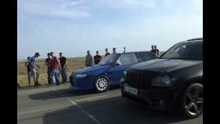 Jeep SRT8 vs. Vaz 2108  /Vaz win/ Aktau Kazakhstan 20-05-2012