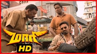 Maari Tamil Movie | Scenes | Dhanush becomes the local don again | Kajal Aggarwal