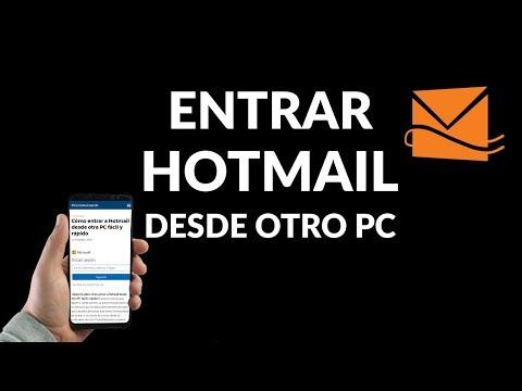 Cómo Entrar a Hotmail desde Otra PC Fácil y Rápido