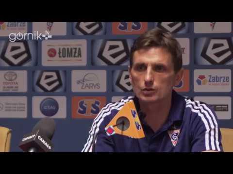 Górnik Zabrze 0-1 Wisła Płock. Konferencja prasowa: Marcin Brosz (21-04-2018)