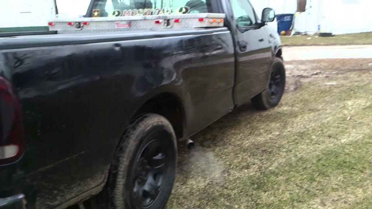 Ford F Muffler Delete   V