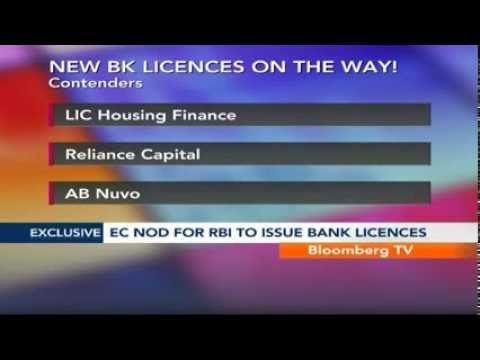 Street Smart- EC Nod For RBI To Issue Bank Licences