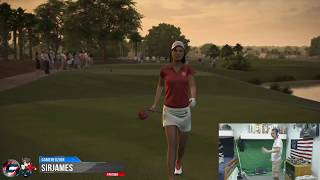 Tiger Woods PGA Tour 14 with Kinect