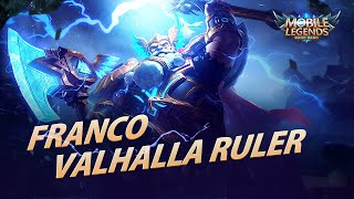 Franco New Skin | Valhalla Ruler | Mobile Legends: Bang Bang!