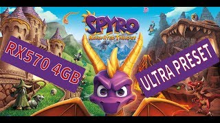 Spyro Reignited Trilogy PC - RX570 4GB - ULTRA Settings - Gameplay Benchmark 1920X1080