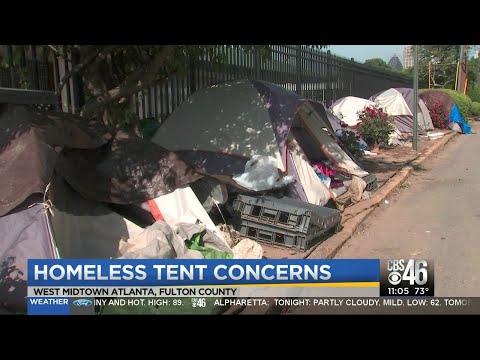 Homelessness Looms In Atlanta
