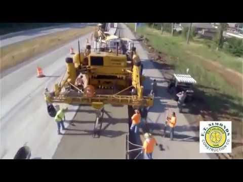 Как делают дороги в америке