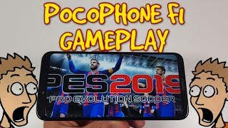 PES 2019 Gameplay With Pocophone F1 Gaming Test Snapdragon 845 Ultra Graphics