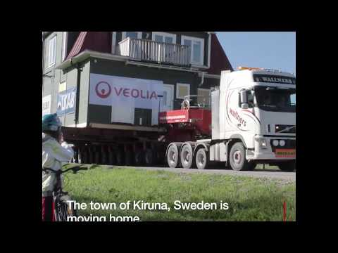 How is Sweden is managing to move an entire town? - BBC Travel Show